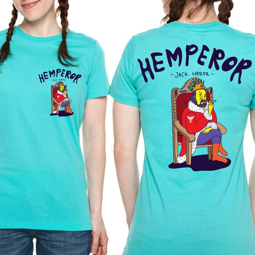 Hemperor Jack Herer Cartoon Theme