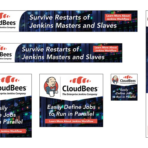 Banners for CloudBees