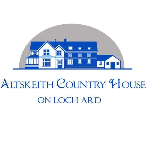 Altskeith Country House on Loch Ard needs a new logo