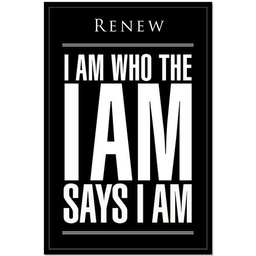 I am who the I am says I am