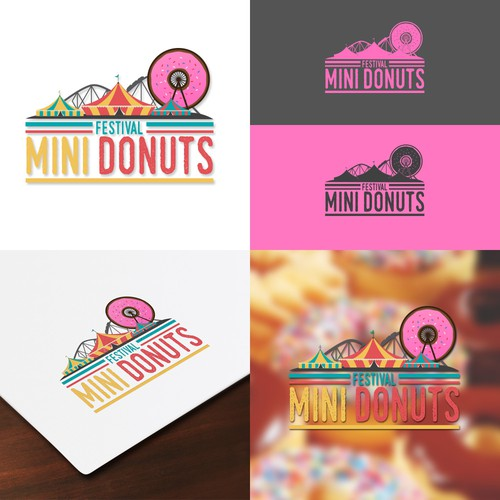 Winning concept for Festival Mini Donuts