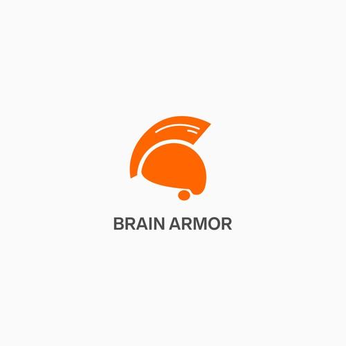 Brain armor logo