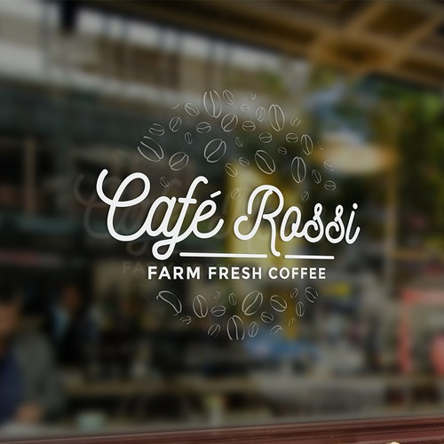 Logo concept for coffee