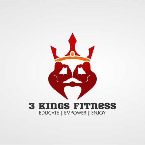 Create a powerful logo for a fitness blog and online training group