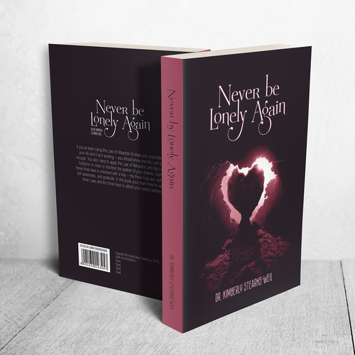 "Cover for book ""Never be Lonely Again"""
