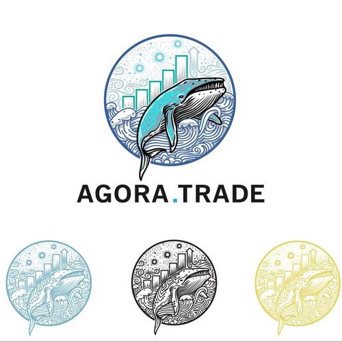 agora trade logo