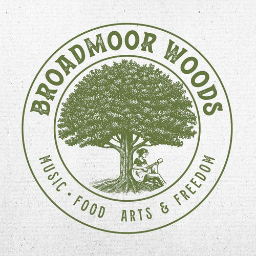 Broadmoor Woods Logo Design