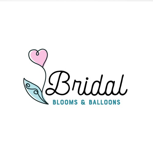 Logo for bridal flowers, gifts & balloons business