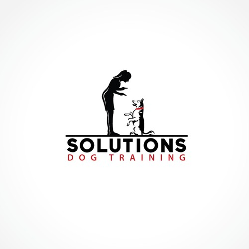 Create a memorable, modern logo for Solutions Dog Training