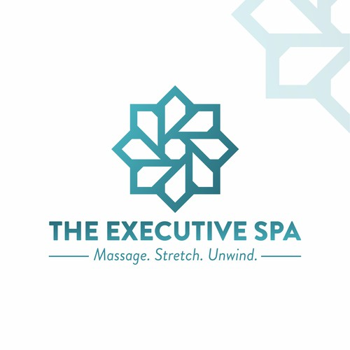 THE EXECUTIVE SPA Logo Concept