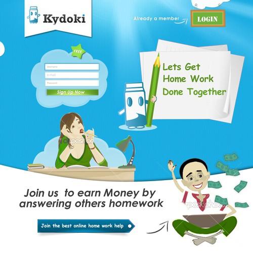 website design for Kydoki