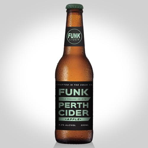 Concept for cider label