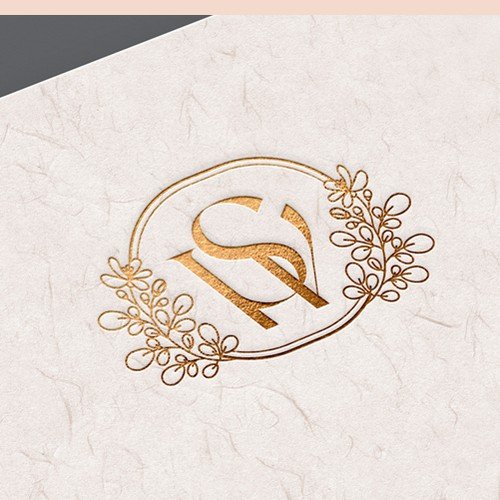 Luxury and elegant logo for candle company