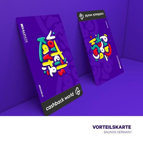 vorteilskarte (cashback card)