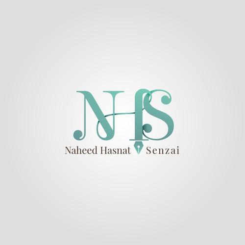 Logo concept for an Author