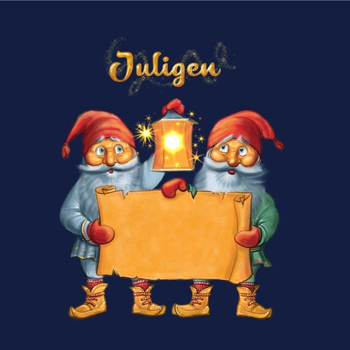 Magical Christmas illustration for Sweden's largest Christmas site!