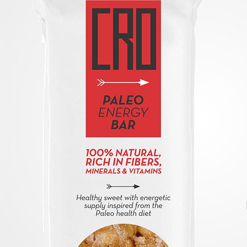 CRO - paleo energy bar