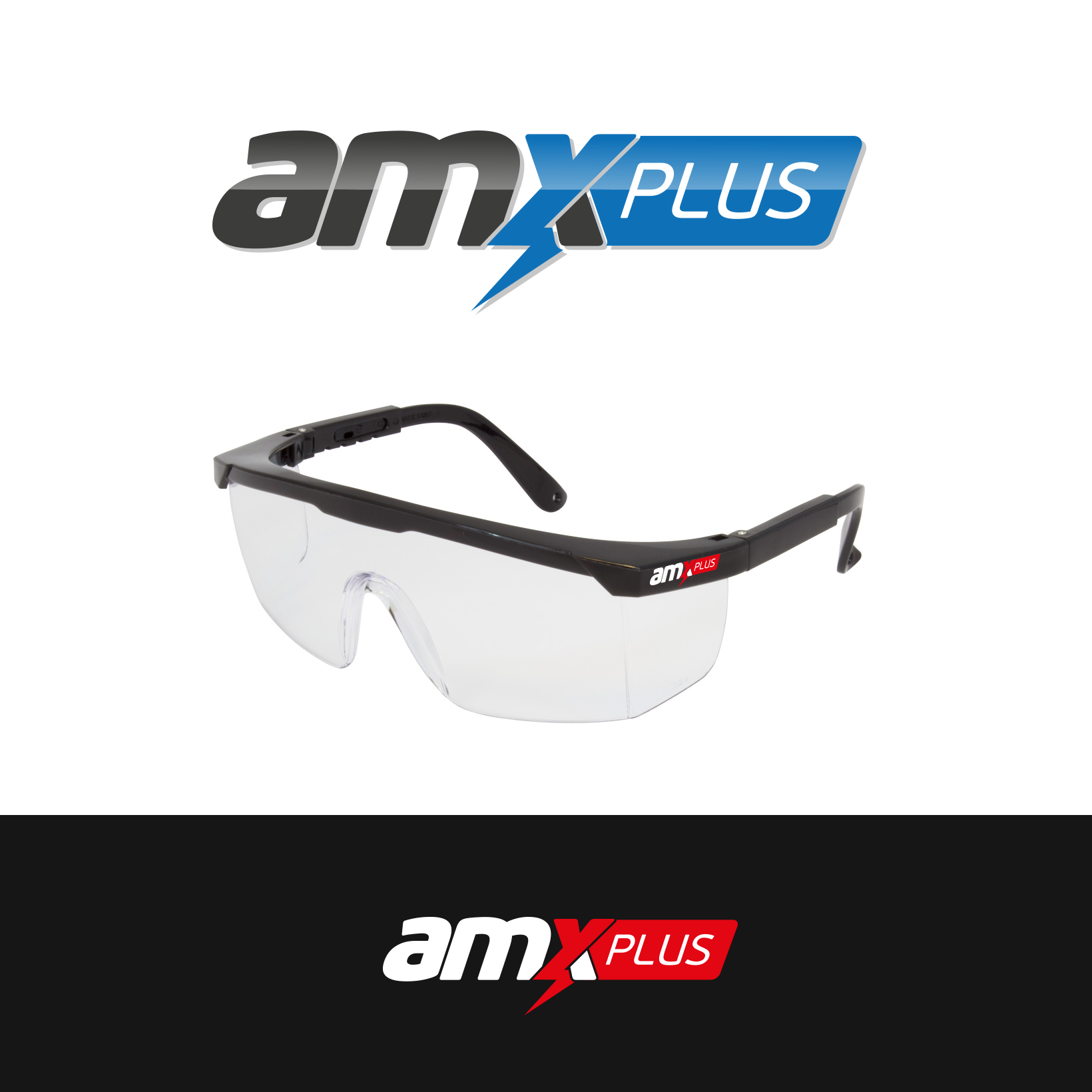 Need a Industrial style for 'AMXPLUS'