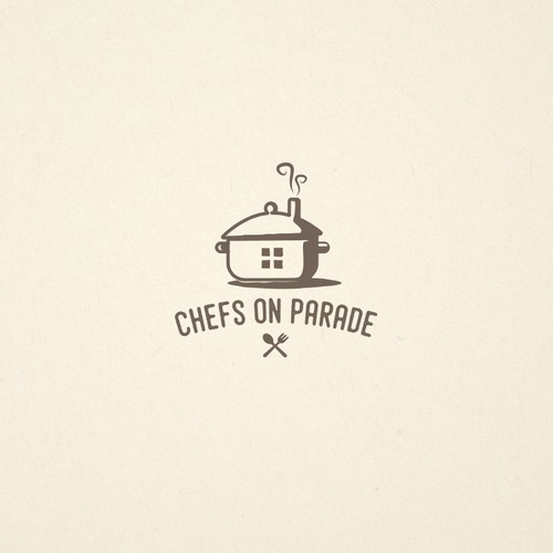 Logo concept for a cooking event
