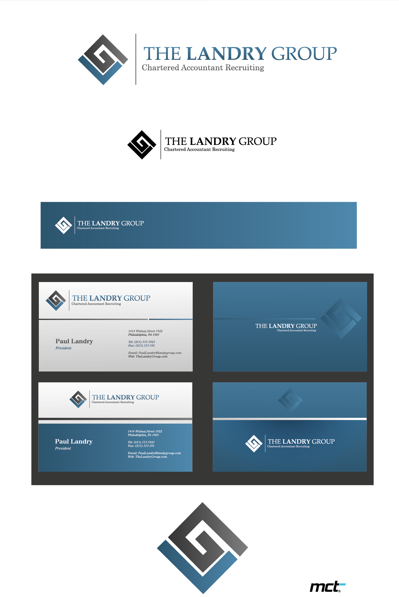 Create the next logo for 'The Landry Group'