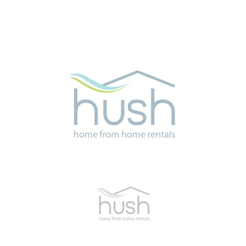 Logo for a high standard rental company