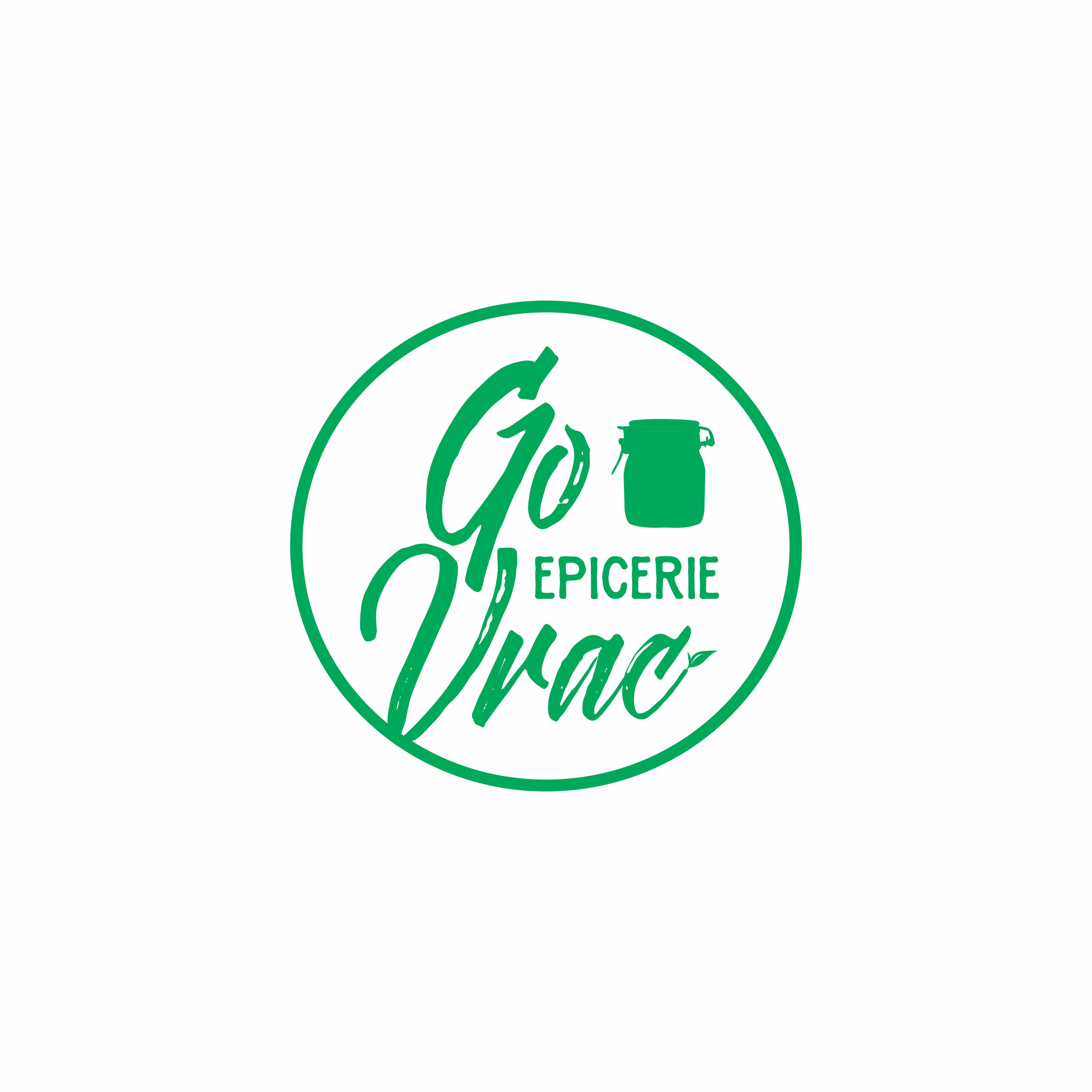 Create an attractive logo for Go Vrac ! (organic bulk store)