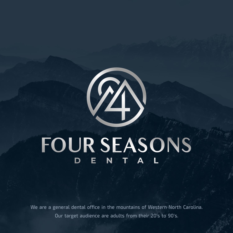 Logo for Four Seasons Dental in western North Carolina.