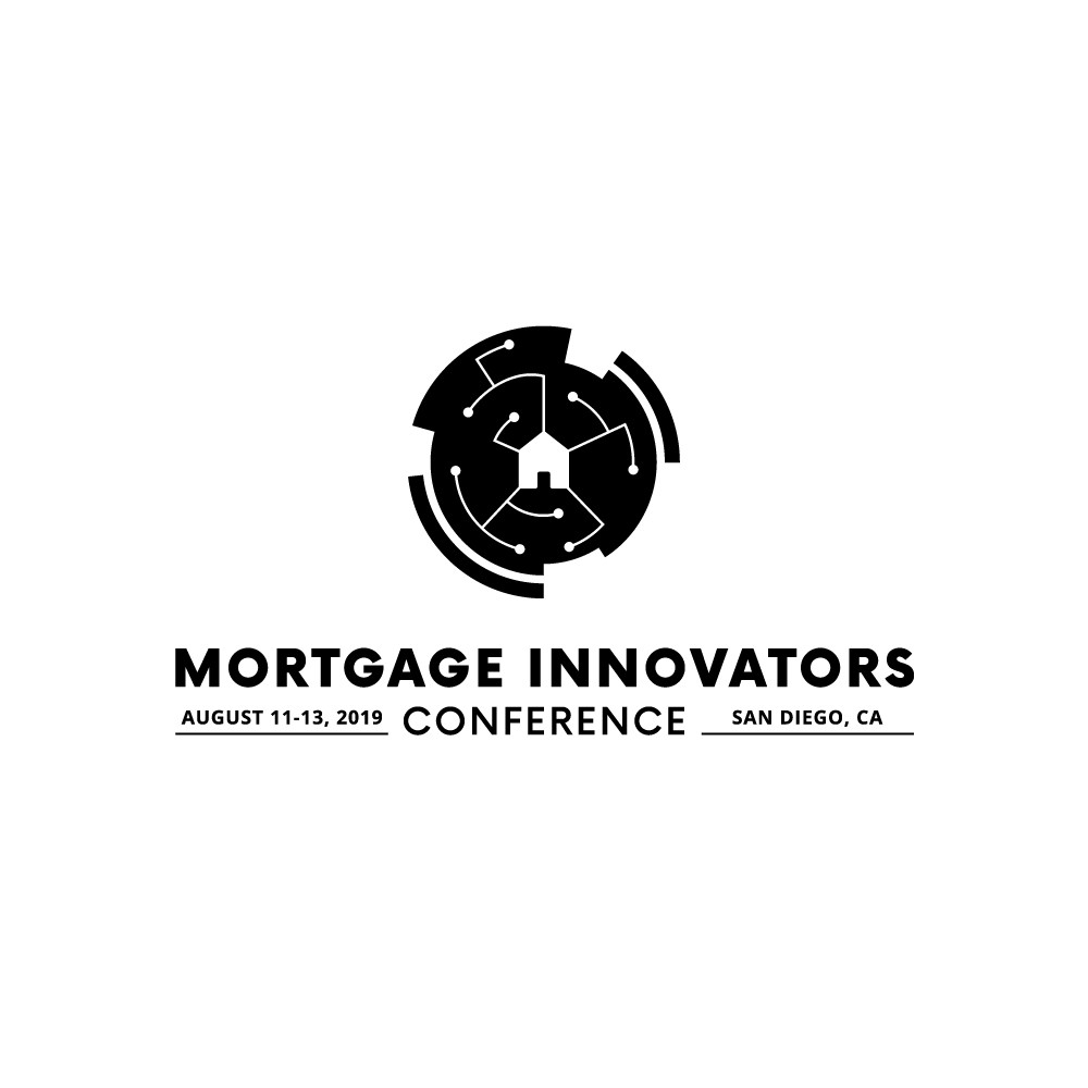 New mortgage tech conference for 2019 needs a logo/brand!  Make it future-looking, forward-facing and edgy!
