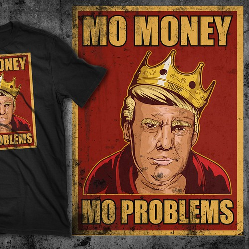 Trump as Notorious BIG tshirt