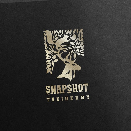 Design a symbolic and powerful logo for (ethical) Snapshot Taxidermy