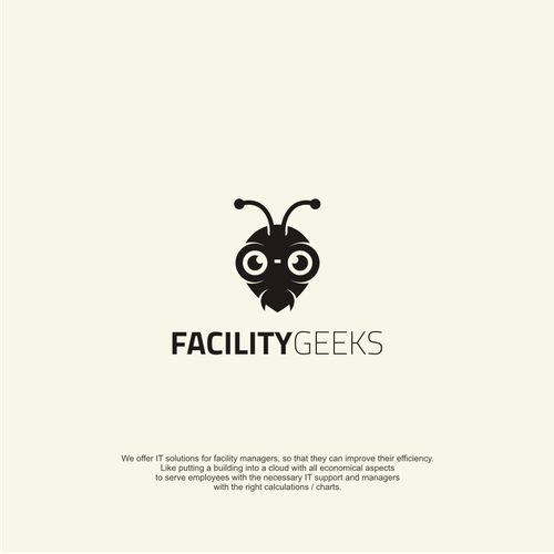 Bold logo concept For Facility Geeks