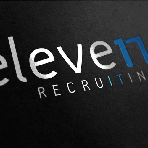 "Logo ""11 RECRUITING"""