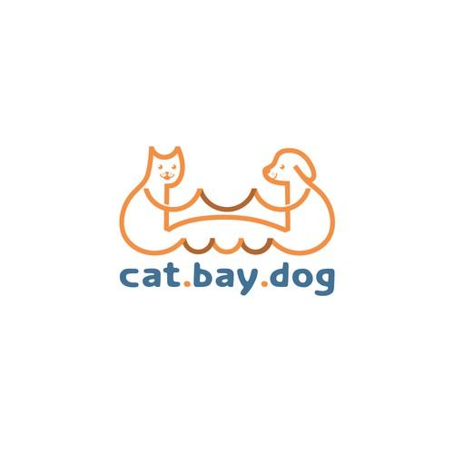 Bold logo for CAT.BAY.DOG