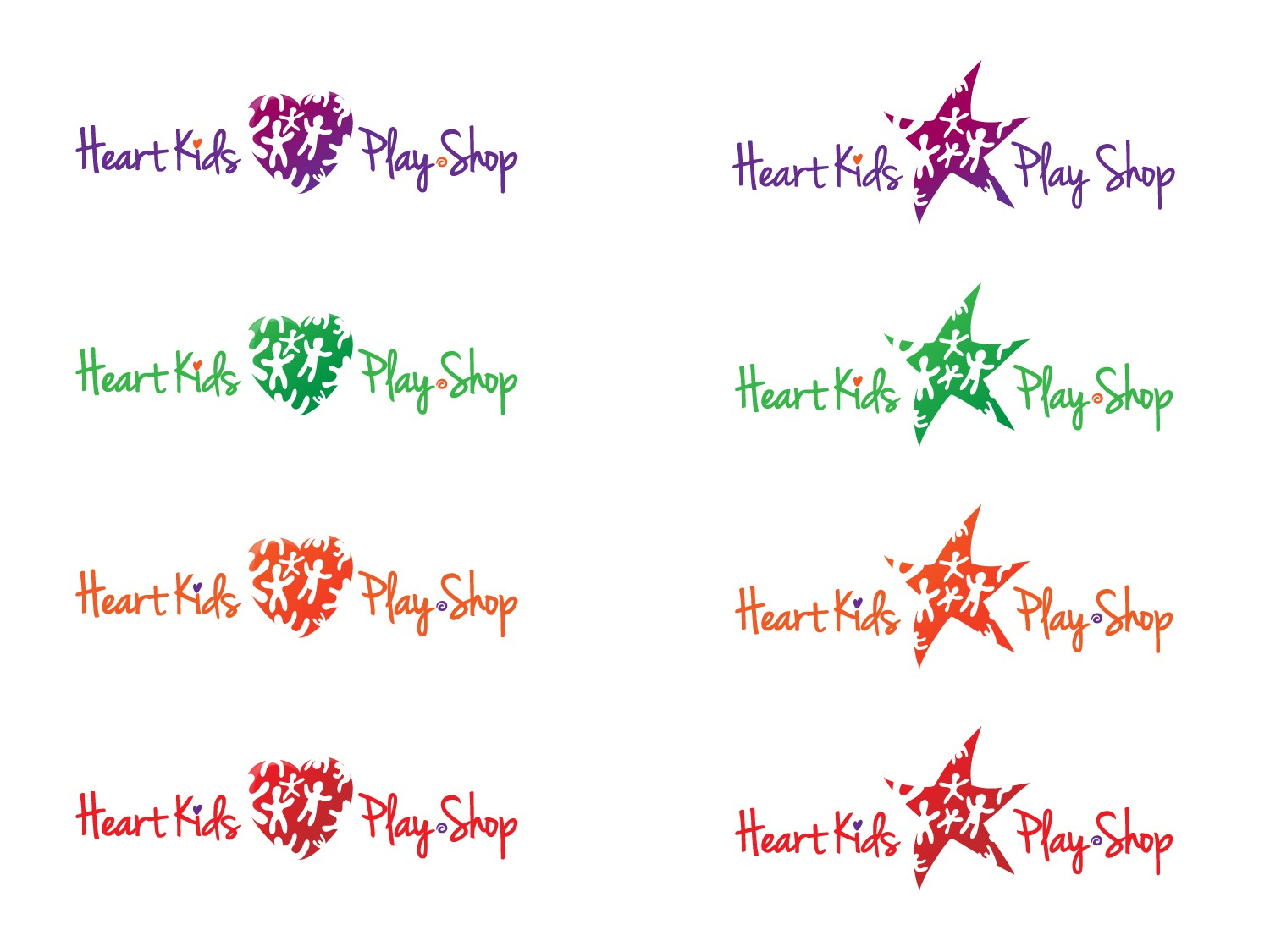 Help * Heart Kids Play Shop * with a new logo
