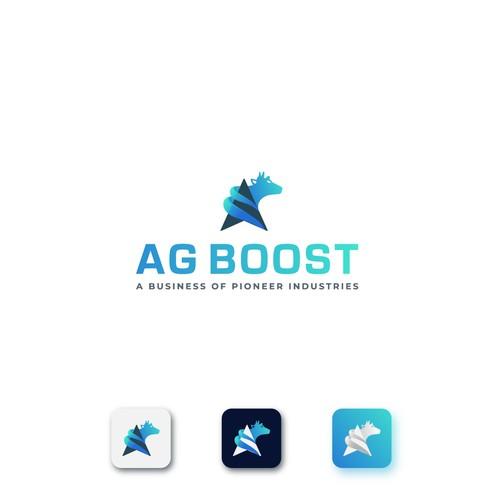 Logo Design for AG Boost