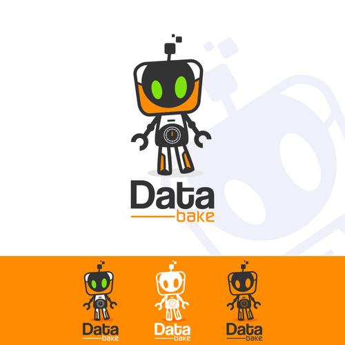 Data Bake Logo design