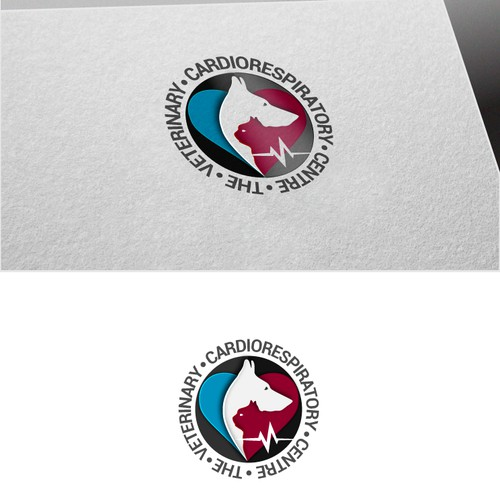 Logo concept for Veterinary Cardiorespiratory Centre