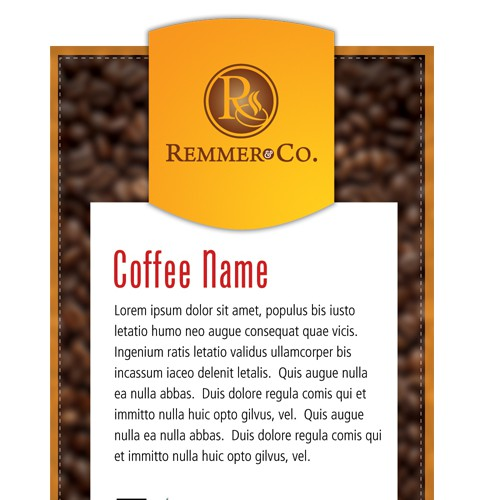 We want your design on our coffee!