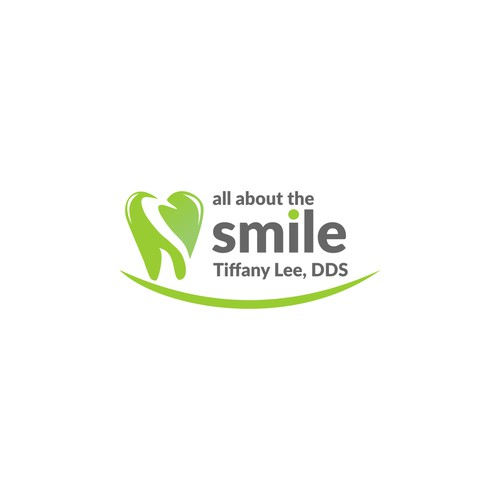 logo design concept for dentistry office