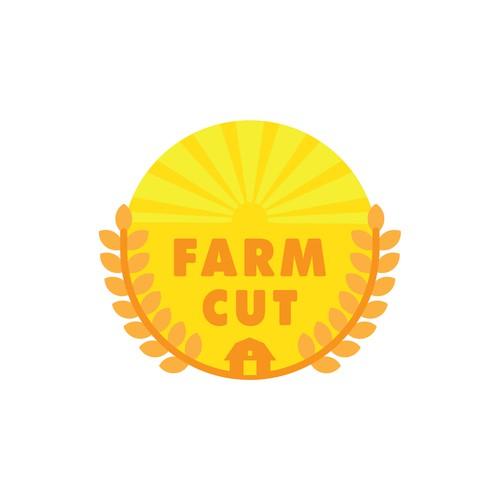 Logo for a farming company