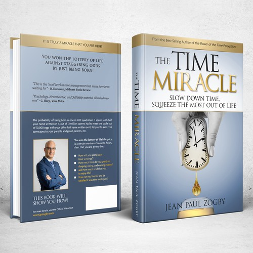 Book cover for The Time Miracle