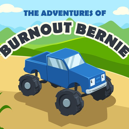 Children Story Book - The Adventures of Burnout Bernie
