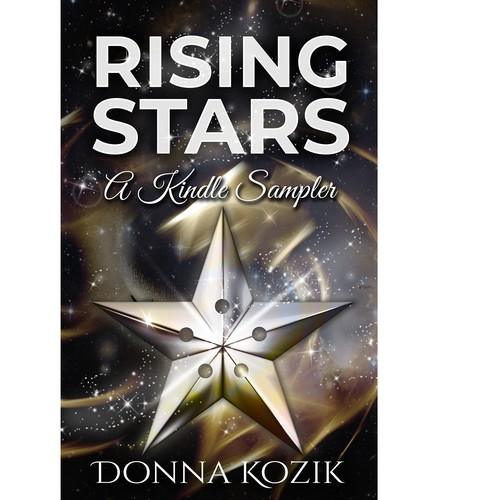 Book cover about writers rising stars