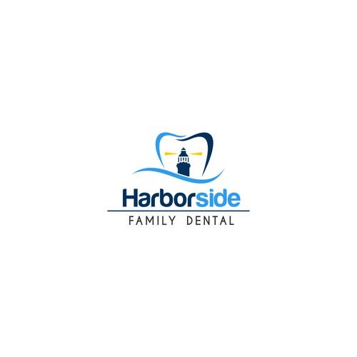 Dental logo for Harbor dental