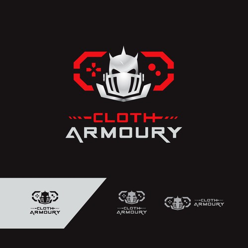Logo for Apparel brand aimed at gamers/geeks