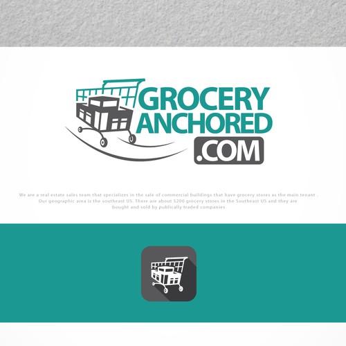 great logo for groceryanchored.com
