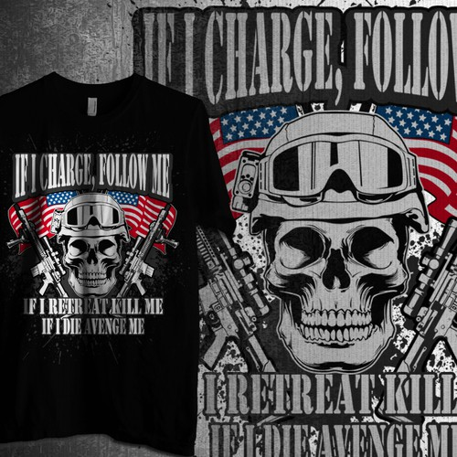 Shirt For US Marines