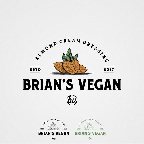 Brian's Vegan Almond Cream Dressing