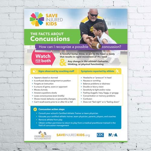 A poster for a non-profit organization