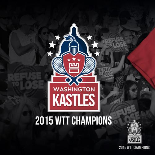Washington Kastles 2015 Championship Logo